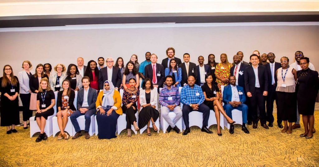 Oxford Policy Fellowship stakeholders at the Annual Meeting