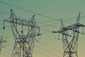 Power lines in Ethiopia